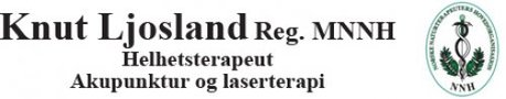 Knut Ljosland Reg. NNH Terapeut
